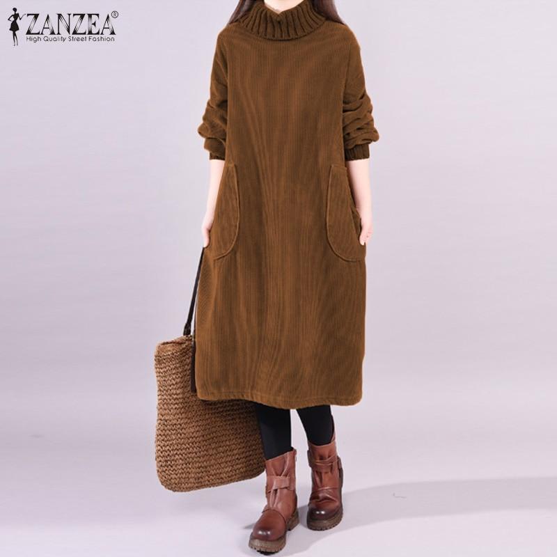 Vintage Corduroy Dress