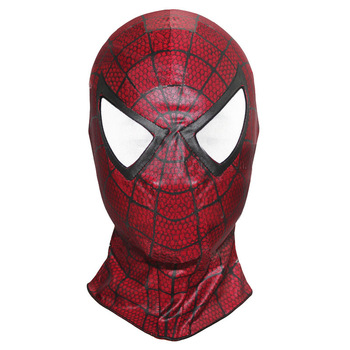 Spider Man Spandex Masks Classic and Black Spider Man (2 designs) 1