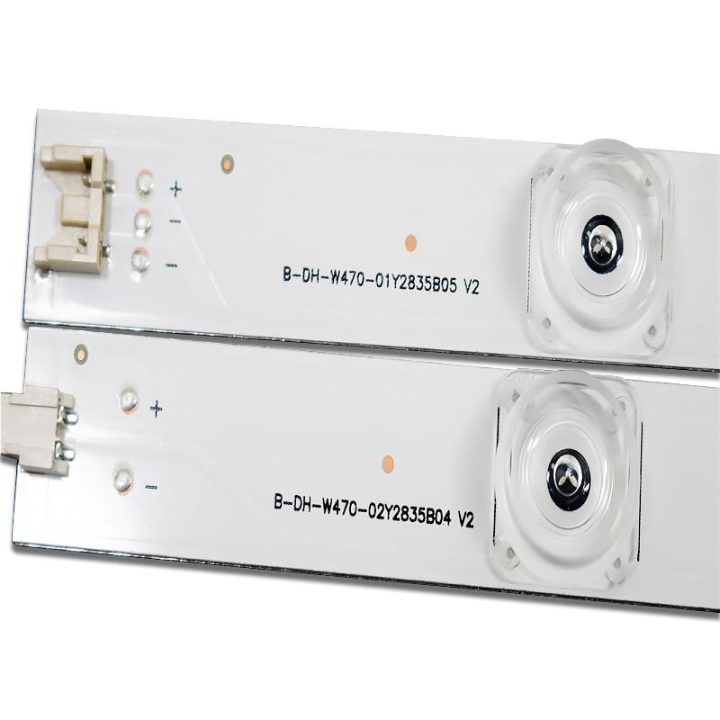 Image 3 - 100%NEW 98cm LED Backlight Lamp strip 9 leds For LG 47 TV  innotek DRT 3.0 47 47LB6300 47GB6500 47LB652V 6916L 1948A 1949A  LC47strip ledstrip a ledstrip lamp