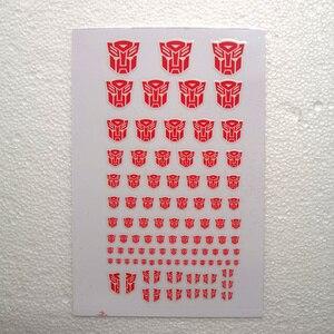 Image 2 - ملصقات Autobots G1 ملصقات 90 + رمز ملصق مائي مخصص لتقوم بها بنفسك المشهد اكسسوارات 0.6*0.6 1.5*1.5 سنتيمتر الديكور