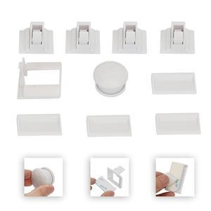 Image 5 - Baby Safety Magnetic Cabinet Lock Set 4 Locks 1 Key Child Proofing Locks Kids Toddler Proof Hidden Dr cerradura invisible