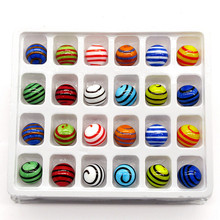Glass marbles balls 16mm colorful Mixed design hand made marbles Home Fish Tank Decor Vase Aquarium nuggets Game Toys for Kids