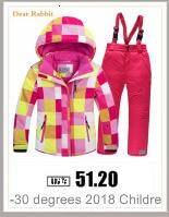 H5029f160170a44a39e25a099de584da56 2019 New Russia Baby costume rompers Clothes cold Winter Boy Girl Garment Thicken Warm Comfortable Pure Cotton coat jacket kids