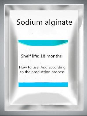 Sodium Alginate Food Grade Powdered Sodium Alginate Thickener Stabilizer