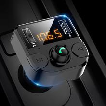 BT36B Bluetooth Dual USB Автомобильное зарядное устройство fm-передатчик Громкая связь аудио MP3 плеер автомобильные аксессуары интерьер
