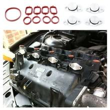цена на 4Pcs Diesel Spiral Valve Panels Shutters Seals for BMW M47 E71 E46 320d