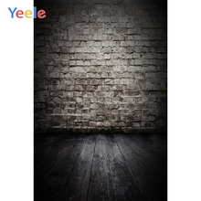 Yeele Grunge Gradient Old Brick Wall Doll Props Pet Baby Photographic Backgrounds Vinyl Photography Backdrop For Photo Studio