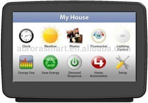 10.2-Inch Smart Home Automation System Touch Screen Panel