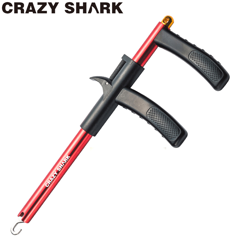Crazy Shark Aluminum Hook Remover Fish Hook Extractor Lightweight Hook Detacher Portable Decoupling Goods For Fishing 24.5cm