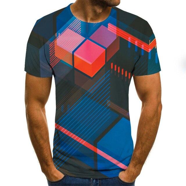 3D Personalized Print Tees Top MTX Ltd 2XL As Shown Mens Fashion Casual T-Shirt Summer O-Neck Short Sleeve Sports t Shirt