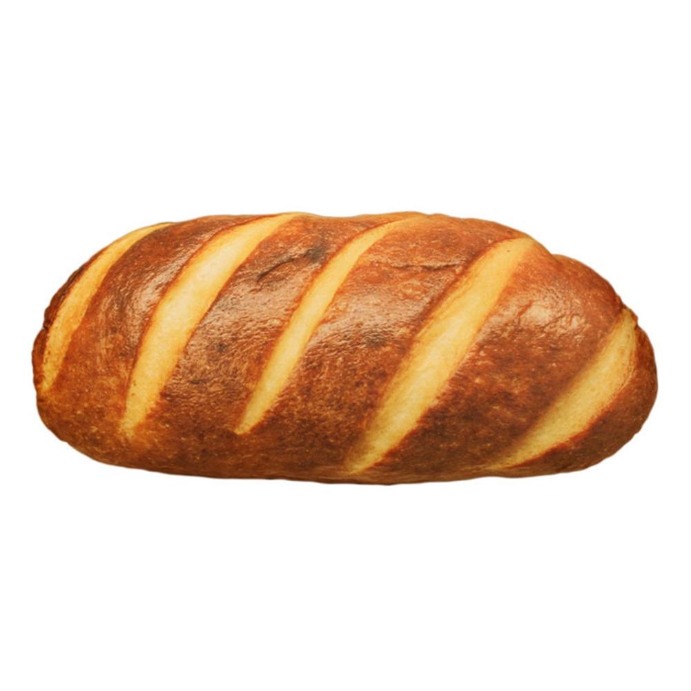 3D имитационный Хлеб Форма Подушка Мягкая поясничная задняя плюшевая игрушка закуски домашний декор MF999 - Цвет: 20CM A