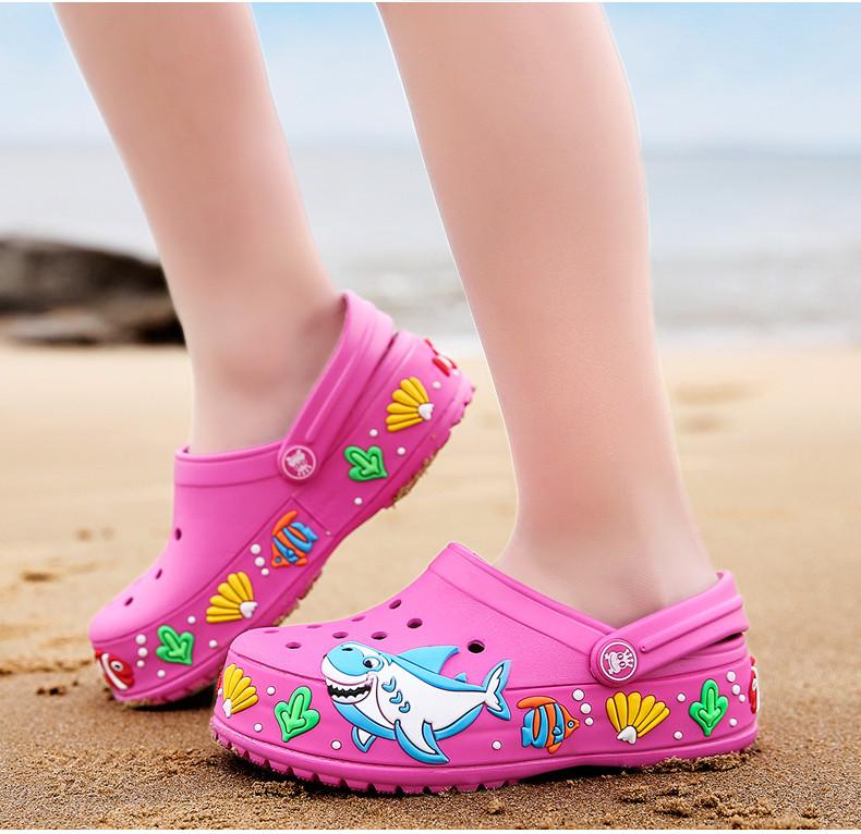 2017 New fashion children garden shoes children cartoon sandal babies summer slippers high quality kids garden children sandals (14)