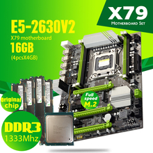 Combos X79 Turbo Atermiter X79T E5-2630 v2 Ddr3-Ram CPU 1333mhz PC3 10600R 4pcs-X-4gb