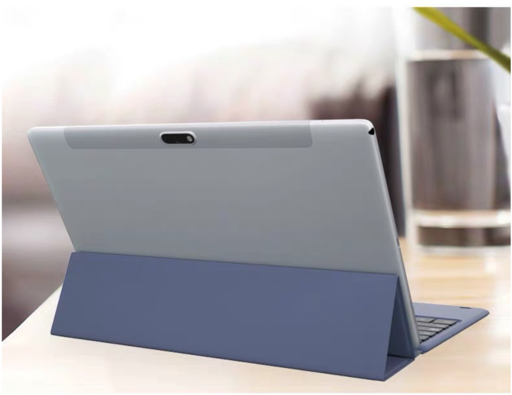 Aluminum Alloy Bluetooth Keyboard Leather Cover Plastic Case For IPad Pro 11.6