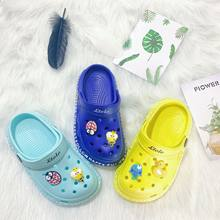 Children Boy Mules Clogs Kids Summer Sandals Croc Garden Beach Slippers Cave Hole Baby Shoes For Boys EUR23 24-29 30 31 32 33 34