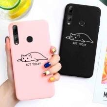 Candy Case For Huawei Y3 2017 Y7 2019 Case for Huawei Y5 Y6 Prime Y9 2018 Y3 II Y5 II Y9 Y7 Pro P Smart Z Plus Cute Cat Cover все цены