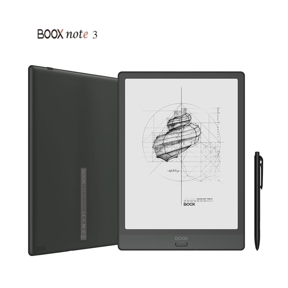 Onyx boox note3 10.3 polegadas tela grande inteligente (4g + 64g) suporte 128g de memória de expansão android10 suporte otg e-ink ebook leitor