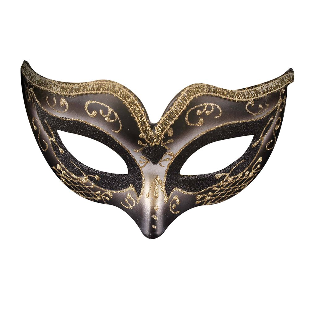 Painted Halloween Ball Full Mask Upscale Venice Man Mask Party Show Mask For Man Catwalk Fancy Dress Dance Mask