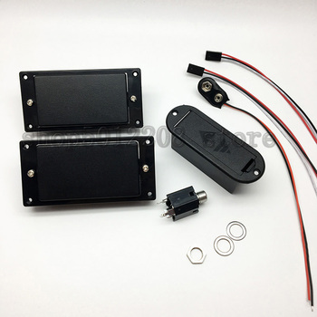 цена на Active Pickups Electric Guitar Humbucker Black Guitars Neck/bridge Pickup In Stock Free shipping