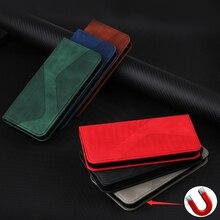 Leder Brieftasche Fall Für Xiaomi Poco X3 NFC M3 C3 Redmi 9A 9AT 9i 9C Hinweis 10 9S 9T 8 8T 9 Pro Max Flip Magnetische Karten Telefon Abdeckung
