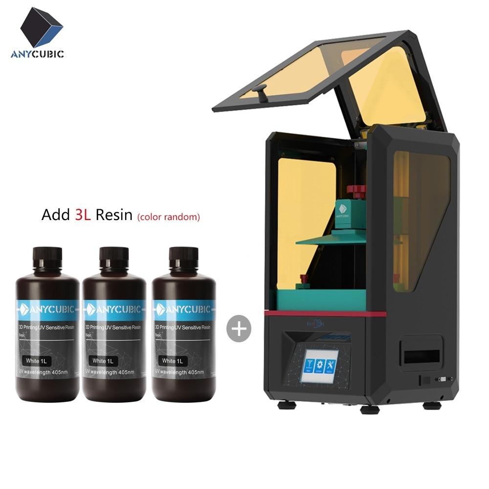 Anycubic Photon 3D принтер SLA/LCD высокая точность 2,8 ''Фотон среза свет-отверждения Impresora Imprimante 3d принтер наборы