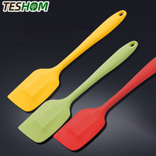 Non Stick Silicone Spatula Heat Resistant Baking Scraper for Cooking, Baking, and Mixing Cake Decorating Baking Accessories