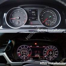 Digital Dashboard Panel Virtuelle Instrument Cluster CockPit LCD Tacho für Volkswagen VW Golf 7 R Golf7 MK7 GTi 2012 ~ 2020