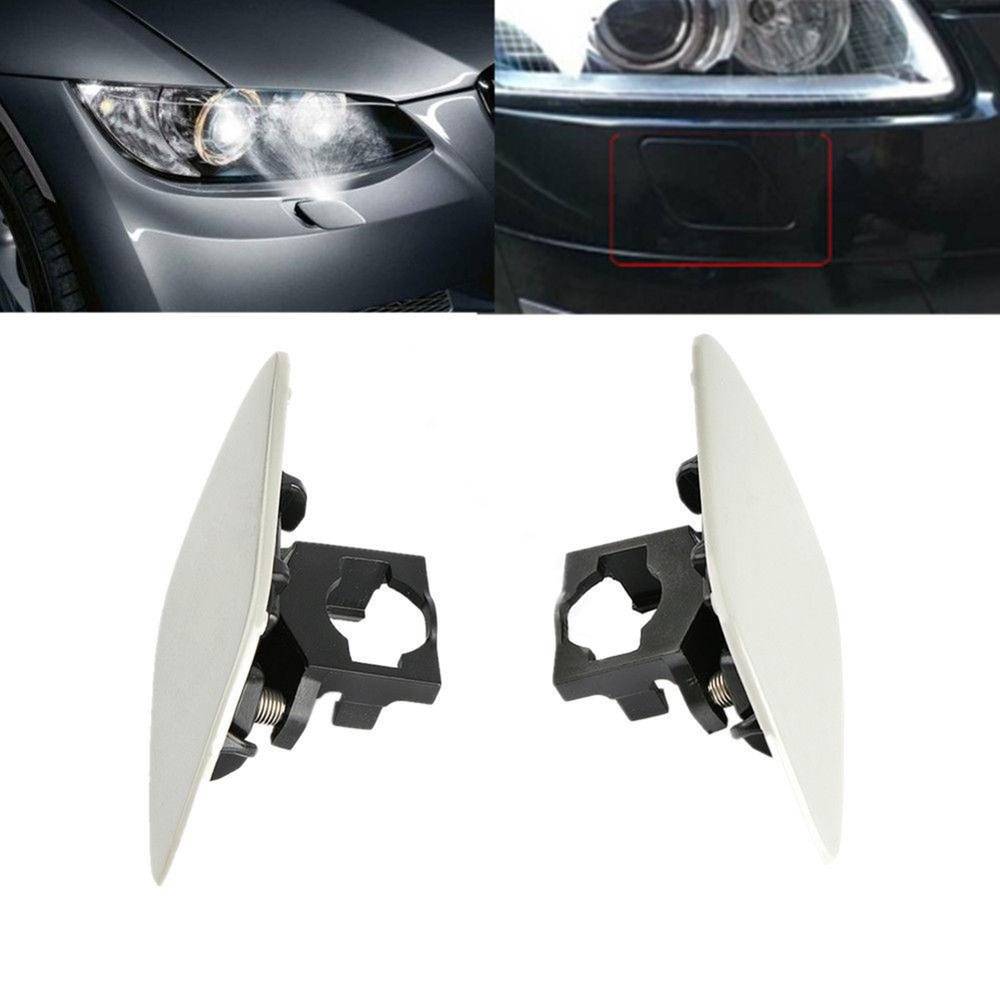 1 Pair Car Headlight Headlamp Washer Cover Cap Front Light Lamp Cover For BMW E92 Coupe E93 Convertible 328i 328xi 335i xDrive-in Car Covers from Automobiles & Motorcycles