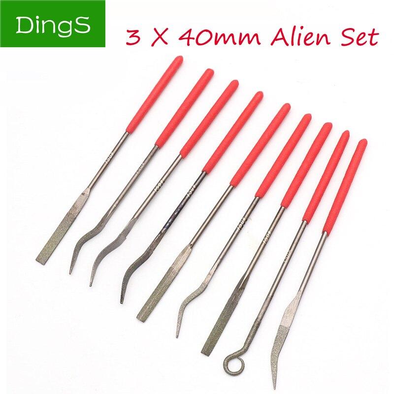 Practical 5pcs Diamond Needle File Repair Tool Kit Set Sharpening 3X140mm Hot