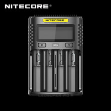 Lcd Display Nitecore UMS4 / UMS2 Intelligente Usb Vier-Slot Superb Charger(China)