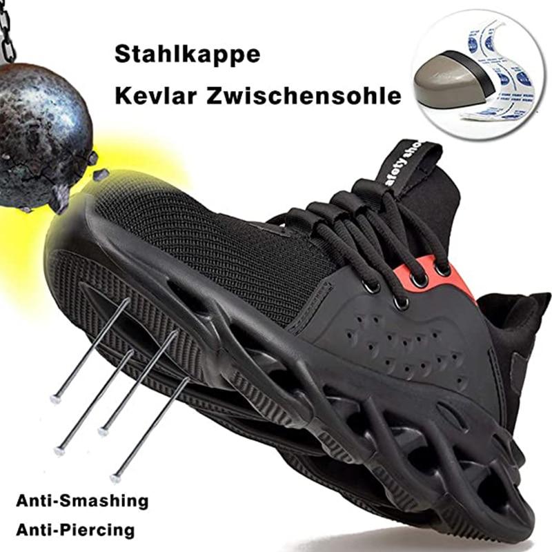 Lightweight Safety Shoes Men Steel Toe