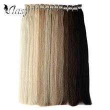 Vlasy 1 г/локон I Tip Наращивание волос Remy Fusion Stick, волосы прямые двойные волосы с кератином предварительно скрепленные человеческие волосы 20 ''28''