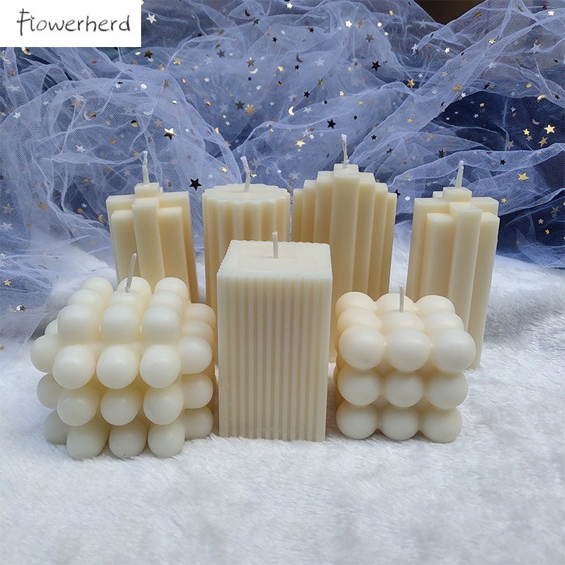 3D Irregular Cylinder Candle Home Simple Decoration Pendulum Aromatherapy Candles Scented Candles Home Decoration