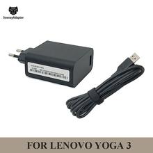 Wtyczka EU US UK 20V 2A 40W ładowarka do tabletu LENOVO Yoga3 Yoga 3 Pro-1370 Yoga 3-1170 Yoga 900S zasilacz sieciowy + kabel USB tanie tanio SowrayAdapter 20 v Dla lenovo