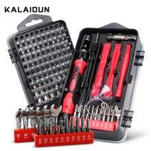 KALAIDUN – jeu de tournevis hexagonaux 138 en 1, embouts Torx de précision Phillips magnétiques, Kit d'outils manuels portables pour la réparation de téléphones portables
