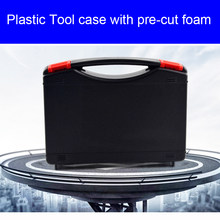 Plastic Tool Case Koffer Toolbox Slagvast Veiligheid Case Apparatuur Instrument Doos Equipmet Auto Kit Storage Case(China)
