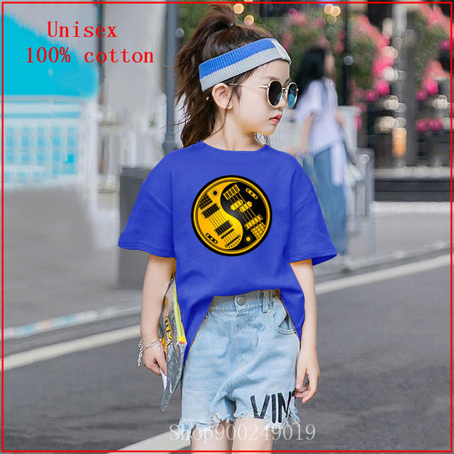 Youth T-Shirts Summer Tops for Boys Yin Yang Ferret Full Printed Short Sleeve Crew Neck Tees