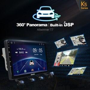 Image 5 - مشغل راديو مزود بنظام تشغيل أندرويد 10.0 2 din 8Core DSP للسيارة الجيل الرابع 4G LTE مع خاصية الملاحة ونظام تحديد المواقع مشغل دي في دي k3 k5 k6 لسيارات فورد كوغا 2 Escape 3 2012 2019 SPDIF Audio
