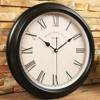 Decorative Bedroom Wall Clock Vintage Wood Retro Modern large kitchen Wall Clocks decorative Living Room Home Decoration II50BGZ