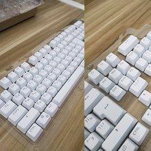 104 keycaps русская полупрозрачная подсветка для вишни клавиатура