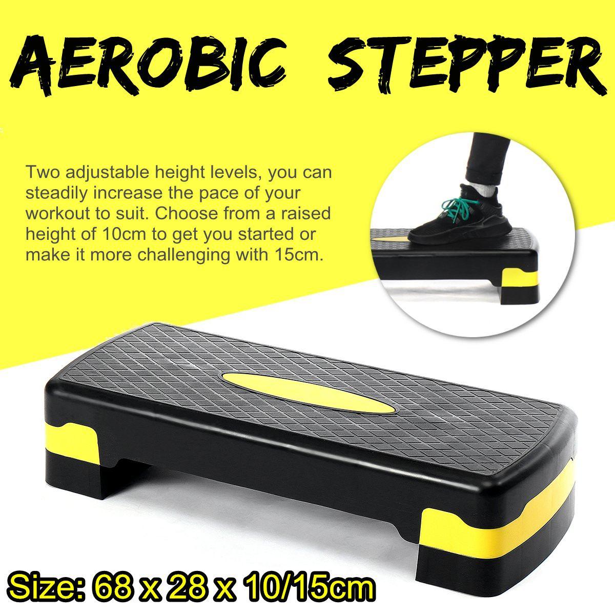 Настраиваемый нескользящий тренажер для фитнеса и аэробики, 100 кг