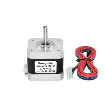 5Pcs/lot 17HS4401 4 lead Nema17 Stepper Motor 42 motor Nema 17 motor 42BYGH 1.5A (17HS4401) motor for CNC XYZ 3d printer