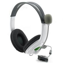 Gaming Headset With Adjustable Microphone For Xbox 360 Noise Cancelling Game Headphone Durable Stereo Earphones(China)