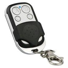 RF 433MHZ 4 kanal klon uzaktan kumanda teksir kablosuz evrensel mando garaje Alarm kapısı akıllı anahtar anahtarı verici