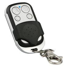 Rf 433mhz 4 canais clone duplicador de controle remoto sem fio universal mando garaje porta alarme interruptor chave inteligente transmissor