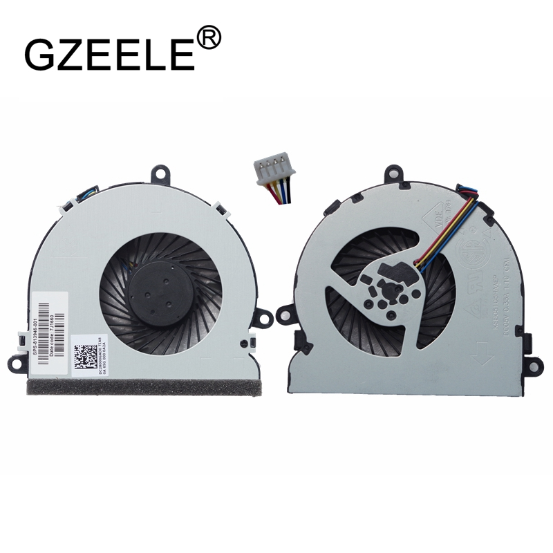 New Laptop Cpu Cooling Fan For HP 15-A 15-AC121DX 15-AC 15-AF 15-AC067tx 15-AC622TX 15-AC121TX FGKB 813946-001 250 G4 FAN