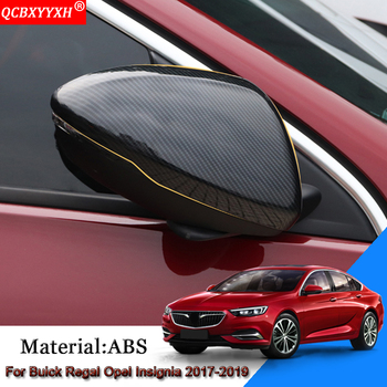 Car External Rearview Mirror Cover Sequins Auto Stickers For Buick Regal Opel Insignia 2017-2019 Holden Commodore (ZB) 2018-2019