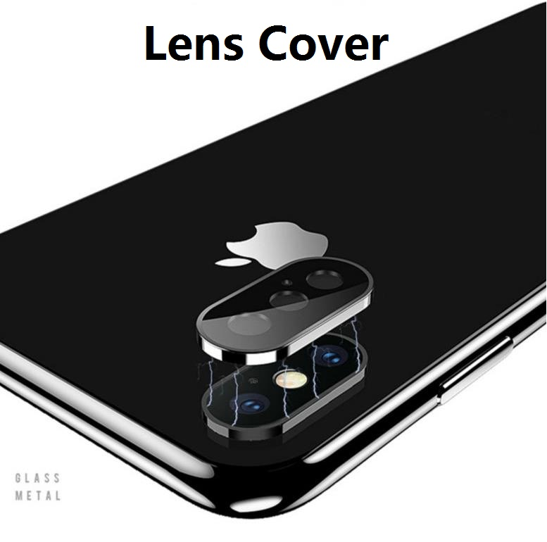 Metal Frame Tempered Glass Lens Protection Ring Mobile Phone Lens Protective Film For IPhone X XS XR XSMAX