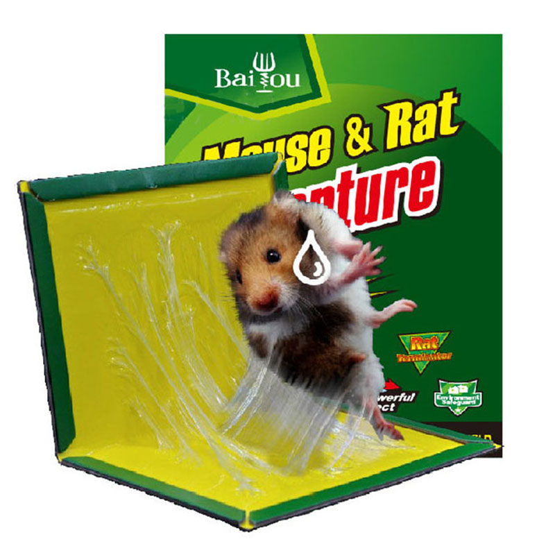 Super Strong Mouse Glue Board Mice Sticky Mouse Trap Board Rat Paste Household Mousetrap Rat Poison Rat Glue Boards Clip