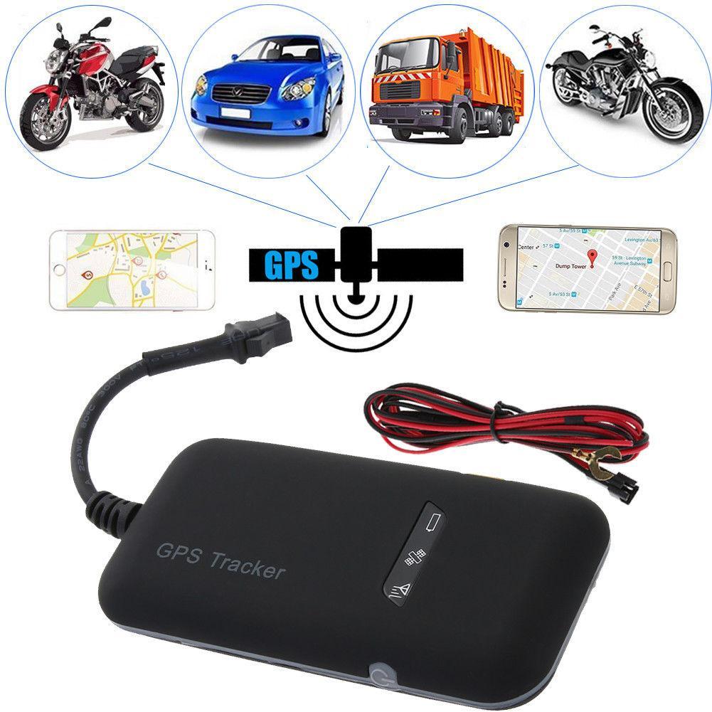 Автомобильный GPS-трекер, локатор в реальном времени, GSM, для мотоцикла, автомобиля, велосипеда, Противоугонный инструмент UBLOX GSM/GPRS 850/900/1800/1900 М...